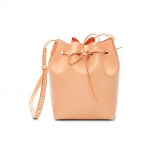 Mansur Gavriel-mini bucket bagcammello