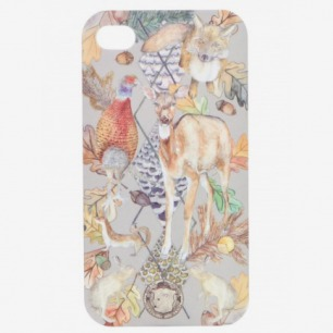 THE CINEREOUS FOREST PRINTED iPHONE CASE