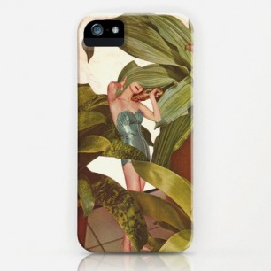 FOLIAGE iPhone & iPod Case by Beth Hoeckel Collage & Design | Society6