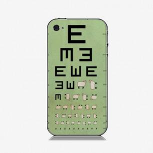 视力表手机壳