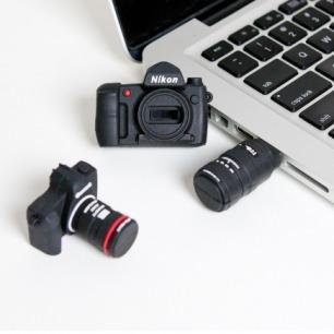USB Drive 单反相机形状U盘
