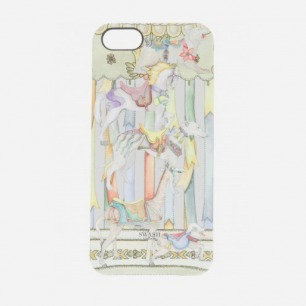 CAROUSEL CHAMPAGNE PRINTED IPHONE 5 CASE