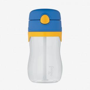 美国Thermos膳魔师 儿童防漏透明塑料吸管杯