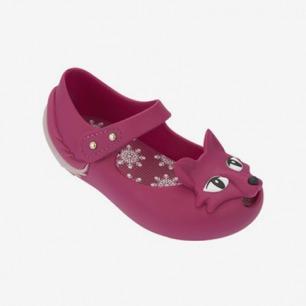 Mini Melissa浮雕狐狸宝宝果冻鞋