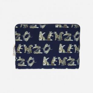 Jungle Print Ipad Case - Blue | KENZO | CoChineChine