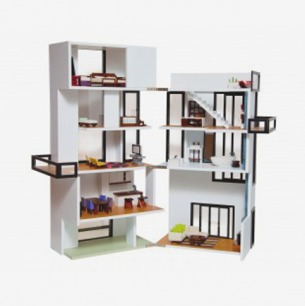 True-to-life Model Dollhouse| Brinca Dada