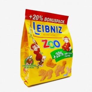 德国LEIBNIZ布莱尼茨幼儿动物黄油小麦饼干 宝宝营养餐150g