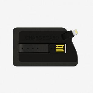 kickstarter chargecard 卡片 便携式数据线
