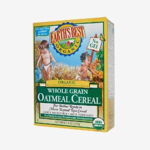 美国Earth's Best世界最好有机含铁燕麦米粉