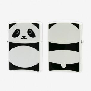 日版ZIPPO 两面加工可爱卡通系列之大熊猫