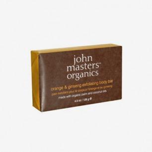 John Masters Organics有机香橙人参去角质洁肤皂