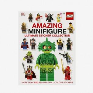 乐高LEGO Amazing Minifigure 贴纸书