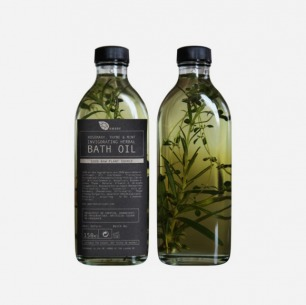 ROSEMARY, THYME AND MINT INVIGORATING HERBAL BATH OIL 150ml