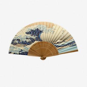 日本浮世绘艺术扇子
