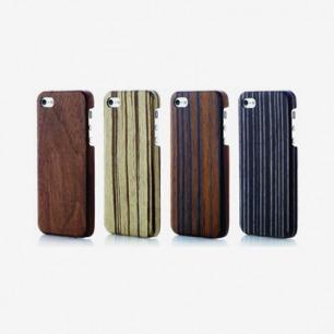 EVOUNI S54-0BN Ultra Slim wooden Case for iPhone5 (Walnut)