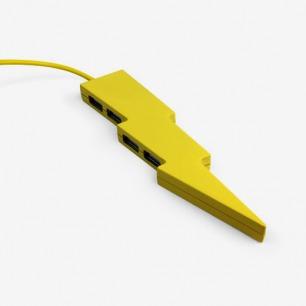 黄色闪电usb集线器