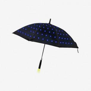 Twilight Umbrella 星星点点发光长柄雨伞