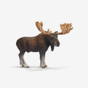 德国思乐SCHLEICH动物模型麋鹿