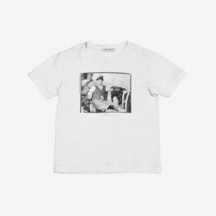 "DOLCE & GABBANA ""AL PACINO""印图平纹棉T恤"