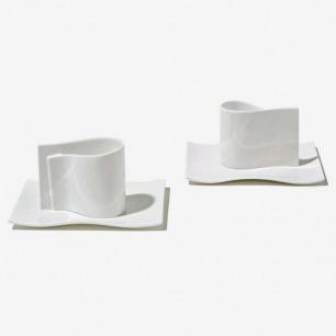 ALESSI E-LI-LI骨瓷咖啡杯