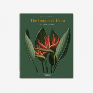 The Temple of Flora: Trade Edition 植物花卉彩绘