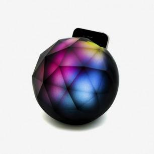yantouch苹果iphone 魔幻水晶球黑钻座充