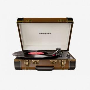 vintage turntables 手提式复古黑胶唱片机