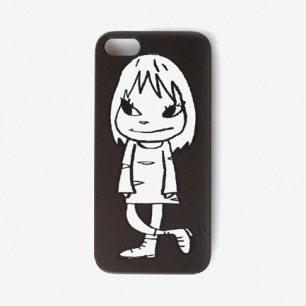 奈良美智Iphone5限量版手机壳奈良黑娃