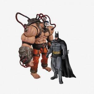 DC 阿克汉姆疯人院 贝恩VS蝙蝠侠 双人套装