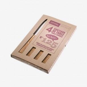 Opinel 不锈钢水果刀 原木色餐刀套装
