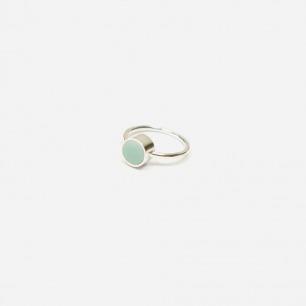 如玉古瓷戒指 | 精致典雅的青花古瓷饰品