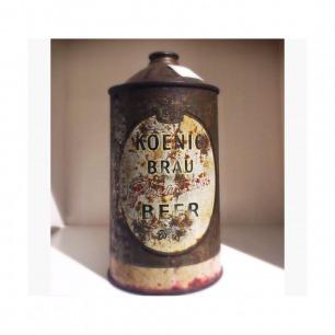 不知年代的酒罐