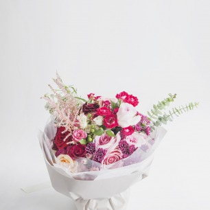 FLORETTE 红桃 Coral 花束
