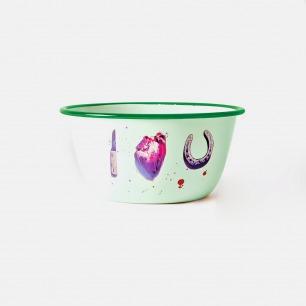 Toiletpaper搪瓷餐盆-I LOVE YOU  | 意大利极具艺术性家居品牌