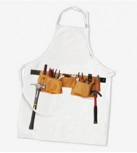工具袋图案厨房围裙