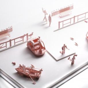 湖畔公园 纸艺模型 30 | 多次获得日本优良设计大奖