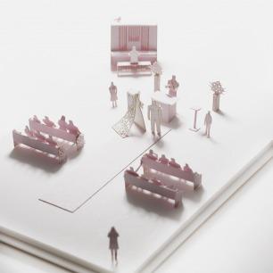 婚礼 纸艺模型 33 | 多次获得日本优良设计大奖