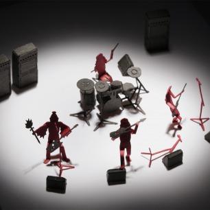 摇滚乐团 纸艺模型 37 | 多次获得日本优良设计大奖