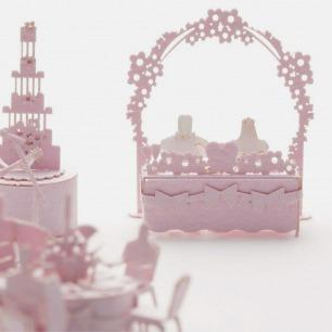 婚宴 纸艺模型 | 多次获得日本优良设计大奖