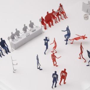 山王工业高校 纸艺模型 | 多次获得日本优良设计大奖