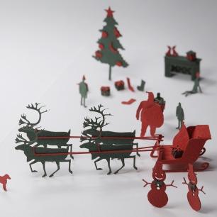 圣诞 纸艺模型 8  | 多次获得日本优良设计大奖
