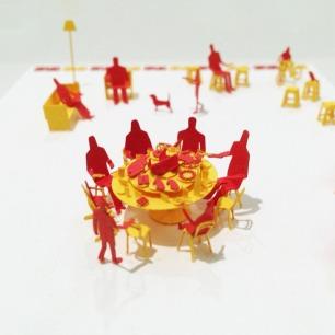团圆 纸艺模型 | 多次获得日本优良设计大奖