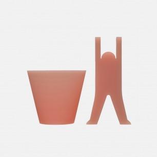 漱口杯&快乐杯站套组 | 缤纷多色的硅胶 速干
