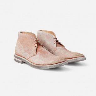 Maison Martin Margiela 洗水皮革沙漠靴