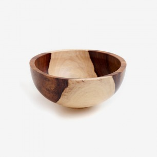 ROSEWOOD BOWL W/ THICK WALLS