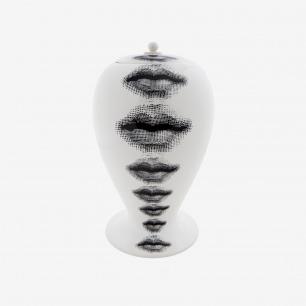 FORNASETTI 白色瓷瓶