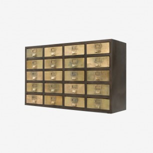 Stow Sideboard in vintage brass
