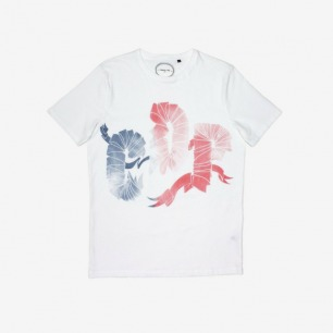 Commune de Paris Ruban Tee White