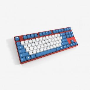 美国制造「雨滴」简化 白蓝 二色/双色 机械键盘 键帽