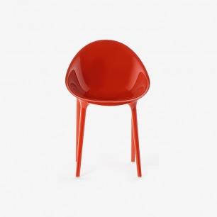 意大利kartell Super Impossible Armchair 圆背扶手椅
